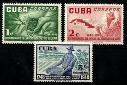 Cuba Nº 364/66 En Nuevo - Cuba