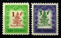 Cuba Nº 381/82 En Nuevo - Cuba