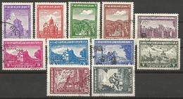 Germany,Occupation Of Serbia,Churches And Monasteries 1942.,used(o) - Occupation 1938-45