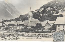 Ville Valouise - Vue Generale  Carte Précurseur Dos Simple 1904 - Otros Municipios