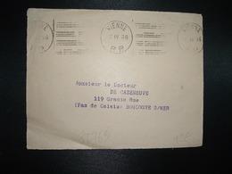 DEVANT PORT PAYE OBL.MEC.7 IV 36 VIENNE PP (38 ISERE) - Maschinenstempel (Sonstige)
