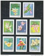VIETNAM 1976 / NON DENTELES / ORCHIDEES - Viêt-Nam