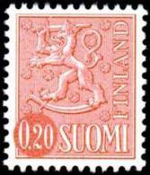 FINLAND, M-63 Lions Definitives 0,20 Type II HaP** - Nuovi