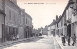 51 - Fere Champenoise ( Marne ) -  Rue De Sezanne - Fère-Champenoise