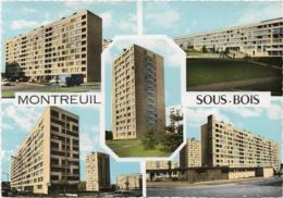 D93 - MONTREUIL SOUS BOIS - LES CLOS FRANCAIS - CPSM Dentelée Colorisée Grand Format - Montreuil