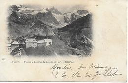 La Grave - Postée En 1902 Oblitéré De  Le Monetier Les Bains - Carte Précurseur Dos Simple Timbre Mouchon 2 Scans - Otros Municipios