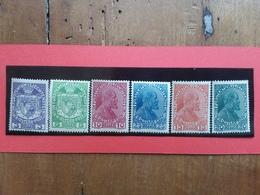 LIECHTENSTEIN 1917 - Principe Giovanni II° Nn. 4/9 Nuovi ** + Spese Postali - Liechtenstein