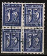 GERMANY  Scott # 170  VF USED BLOCK Of 4 (Stamp Scan # 474) - Germany