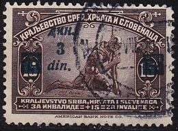 JUGOSLAVIA [1922] MiNr 0165 B ( O/used ) - 1919-1929 Königreich Der Serben, Kroaten & Slowenen