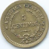 Costa Rica - 5 Centimos - 1920 - KM151 - Brass Coin - Costa Rica