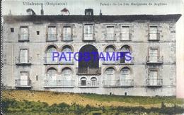 109519 SPAIN ESPAÑA VILLAFRANCA GUIPUZCOA PAIS VASCO PALACIO DE LOS SRS MARQUESES DE ARGÜESO POSTAL POSTCARD - España