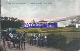 109520 SPAIN ESPAÑA VILLAFRANCA GUIPUZCOA PAIS VASCO VISTA GENERAL AÑO 1914 POSTAL POSTCARD - España