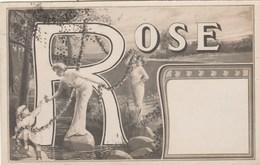 Prénom ROSE - Femme Enfant - Art Nouveau - Prénoms
