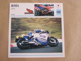 HONDA 500 NS Japan Japon 1985  Moto Fiche Descriptive Motocyclette Motos Motorcycle Motocyclette - Zonder Classificatie