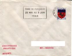 FRANCE : 1968 - Périgueux Gare - Foire - France