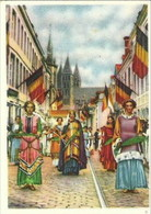 FOLKLORE BELGE - N° 9 - TOURNAI : La Grande Procession De N. D. Des Malades - Côte D'Or