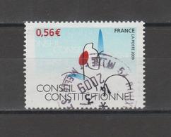 FRANCE / 2009 / Y&T N° 4347 : Conseil Constitutionnel - Oblitération Du 14/03/2009. SUPERBE ! - Gebraucht