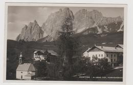 CORTINA  (BL) Fotografica  - F.p. - Anni '1930 - Belluno