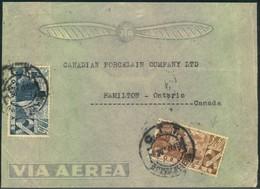 1947, Air Mail Letter From PORTO To Hamilton, Canada - Non Classés