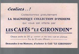 Buvard  CAFE LE GIRONDIN   (PPP10452) - Coffee & Tea