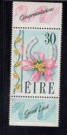 740894795 POSTFRIS  MINT NEVER HINGED EINWANDFREI SCOTT 797 HORSESHOE FLOWERS ENGLISH LABELS - 1949-... République D'Irlande