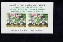 740895257 POSTFRIS  MINT NEVER HINGED EINWANDFREI SCOTT 1314A VISIT OF INDONESIAN PRES SUHARTO 1982 - Corée Du Sud