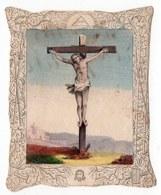 JESUS SUR LA CROIX  IMAGE  XIXéme - Images Religieuses