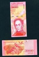 VENEZUELA  -  2017  20000 Bolivars  UNC - Venezuela