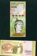 VENEZUELA  -  2017  2000 Bolivars  UNC - Venezuela