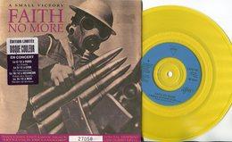 Faith No More - 45t De Couleur Jaune - A Small Victory - - Hard Rock & Metal