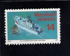 740896988 POSTFRIS  MINT NEVER HINGED EINWANDFREI SCOTT 442 USCG FISHERIES PATROL VESSEL CAPE CORWIN - Marshall