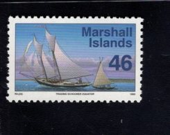 740897147 POSTFRIS  MINT NEVER HINGED EINWANDFREI SCOTT 454 TRADING SCHOONER EQUATOR - Marshall