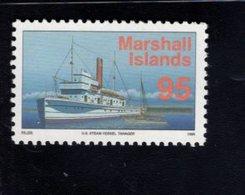 740897312 POSTFRIS  MINT NEVER HINGED EINWANDFREI SCOTT 461 US STEAM VESSEL TANAGER - Marshall
