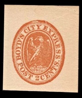 """1857 United States """"Boyd's"""" - Locals & Carriers"""