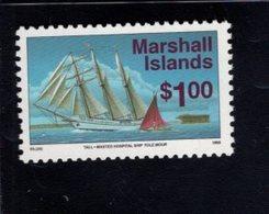 740897603 POSTFRIS  MINT NEVER HINGED EINWANDFREI SCOTT 463 BARKANTINE HOSPITAL SHIP TOLE MOUR - Marshall