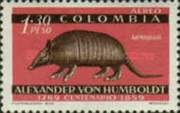 USED STAMPS Colombia - The 100th Anniversary Of The Death Of Alexandor Von-1960 - Colombia