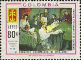 USED STAMPS Colombia - Airmail - The 6th Colombian Surgeons' Co -1967 - Colombia