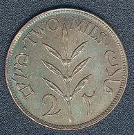 Palästina, 2 Mils 1927, Qualität! - Münzen