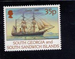 740899841 POSTFRIS  MINT NEVER HINGED EINWANDFREI SCOTT 195 SHIPS CASTOR - Géorgie Du Sud