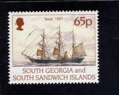 740900183 POSTFRIS  MINT NEVER HINGED EINWANDFREI SCOTT 197 SHIPS JASON 1881 - Géorgie Du Sud