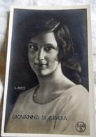 Royalty Italy Savoia GIOVANNA   Cartolina Postcard G RICCI - Case Reali