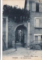 24. AGONAC. CPA. LA VIELLE PORTE. ANNEE 1926 - Other Municipalities
