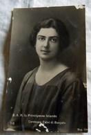 Royalty Italy Savoia PRINCIPESSA IOLANDA  Cartolina Postcard - Case Reali