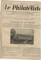 LE PHILATELISTE - Revue Bimensuelle N°13 - 19412-  Palingénésie Des Iles Ioniennes - - Livres, BD, Revues