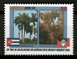 Cuba 2014 / Trees Palms MNH Árboles Palmeras Bäume Arbres / Cu12105  18 - Árboles