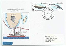 YT 1177 1178 - Baleines - 50 Ans De La 3e Expédition Antarctique Française - Afrique Du Sud (1961-...)