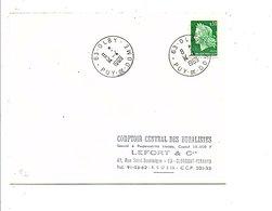OBLITERATION DE OLBY PUY DE DOME 1969 - Marcofilia (sobres)