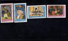 740901923 POSTFRIS  MINT NEVER HINGED EINWANDFREI SCOTT C699 - C702 PAINTINGS OF O'HIGGINS - Honduras
