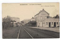 Rochefort - La Gare Et Le Tunnel - Rochefort