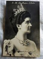 Royalty Italy Savoia REGINA D ITALIA 2  Cartolina Postcard - Case Reali